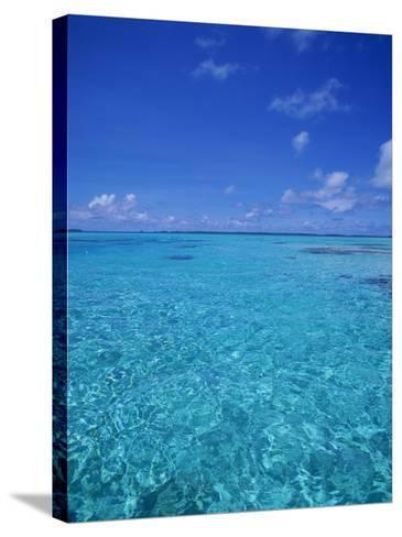 Ocean, French Polynesia-Douglas Peebles-Stretched Canvas Print