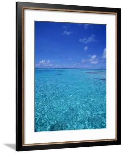 Ocean, French Polynesia-Douglas Peebles-Framed Art Print