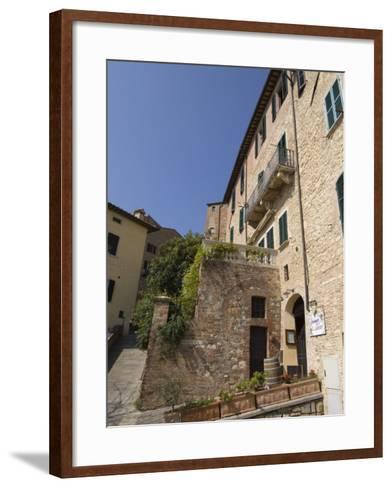 Montepulciano, Val D'Orcia, Siena Province, Tuscany, Italy-Sergio Pitamitz-Framed Art Print