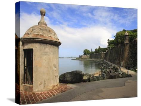 El Morro Walk, Old San Juan, Puerto Rico-Maresa Pryor-Stretched Canvas Print