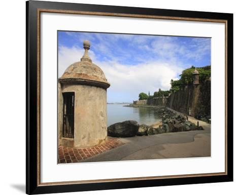El Morro Walk, Old San Juan, Puerto Rico-Maresa Pryor-Framed Art Print
