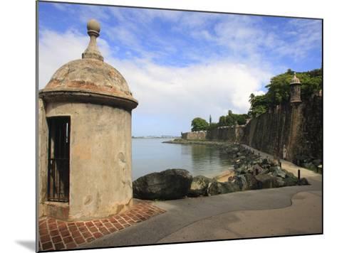 El Morro Walk, Old San Juan, Puerto Rico-Maresa Pryor-Mounted Photographic Print