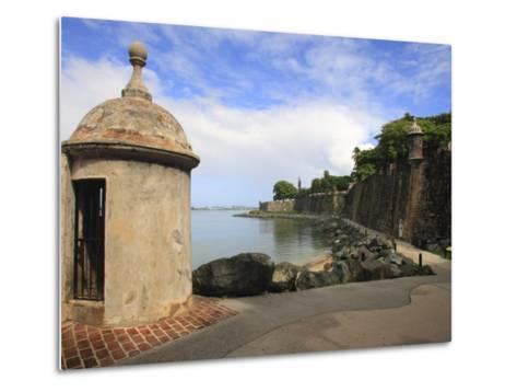El Morro Walk, Old San Juan, Puerto Rico-Maresa Pryor-Metal Print