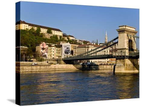 Scenic of Budapest, Hungary-Joe Restuccia III-Stretched Canvas Print