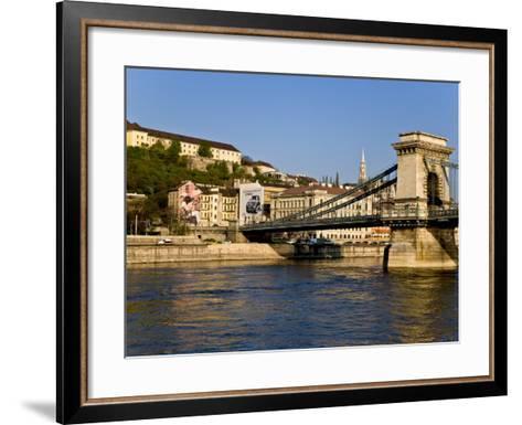 Scenic of Budapest, Hungary-Joe Restuccia III-Framed Art Print