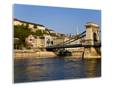 Scenic of Budapest, Hungary-Joe Restuccia III-Metal Print