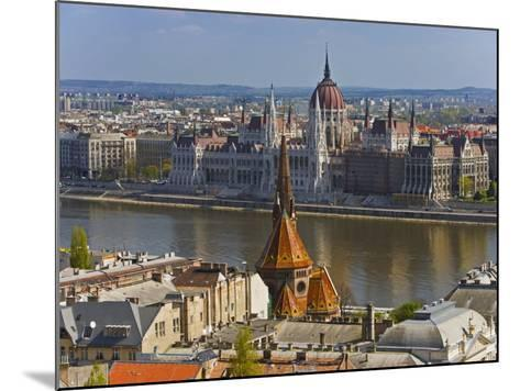 A View of Budapest from Castle Hill, Hungary-Joe Restuccia III-Mounted Photographic Print