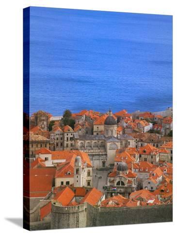 Cityscape, Dubrovnik, Croatia-Keren Su-Stretched Canvas Print