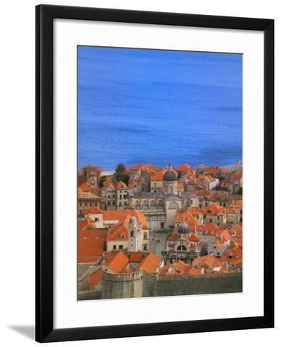 Cityscape, Dubrovnik, Croatia-Keren Su-Framed Art Print