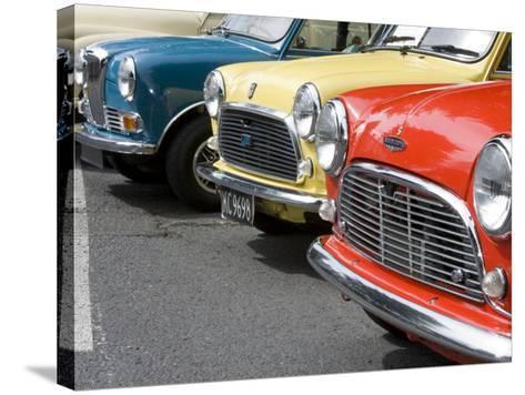 Classic British Automobile, Seattle, Washington, USA-William Sutton-Stretched Canvas Print