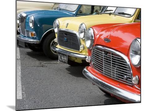 Classic British Automobile, Seattle, Washington, USA-William Sutton-Mounted Photographic Print