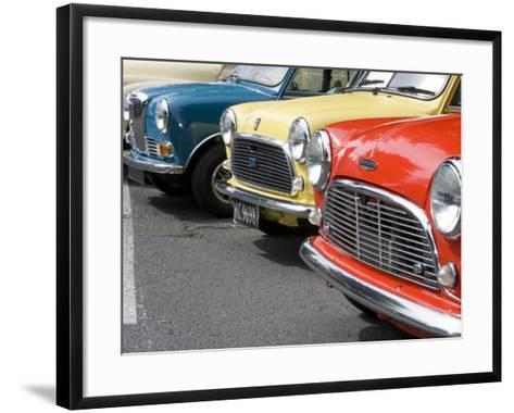 Classic British Automobile, Seattle, Washington, USA-William Sutton-Framed Art Print