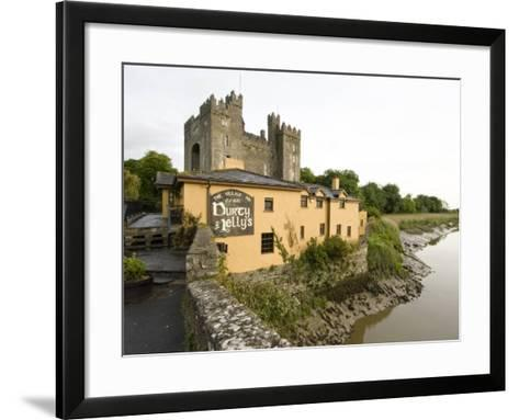 Medieval Castle, County Clare, Ireland-William Sutton-Framed Art Print