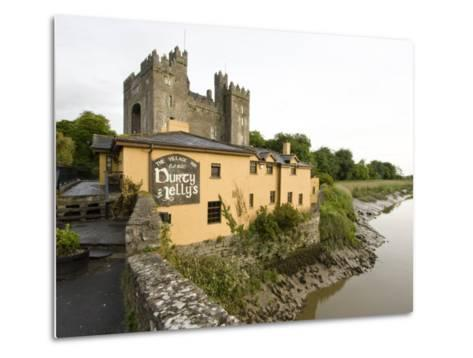 Medieval Castle, County Clare, Ireland-William Sutton-Metal Print