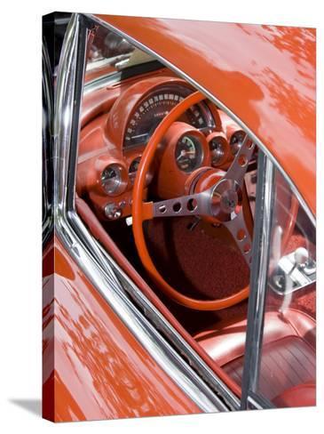 Classic American Automobile, Seattle, Washington, USA-William Sutton-Stretched Canvas Print