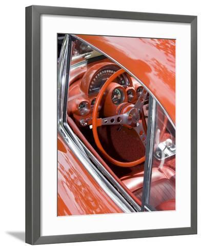 Classic American Automobile, Seattle, Washington, USA-William Sutton-Framed Art Print