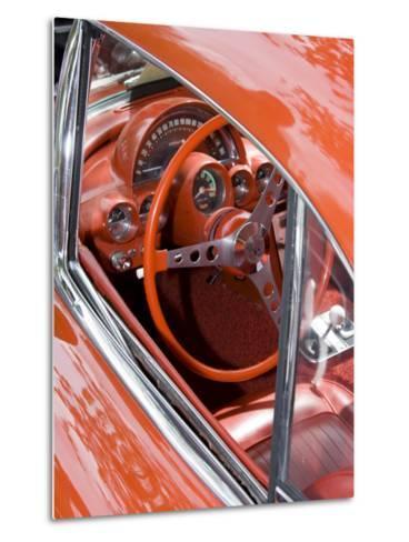 Classic American Automobile, Seattle, Washington, USA-William Sutton-Metal Print