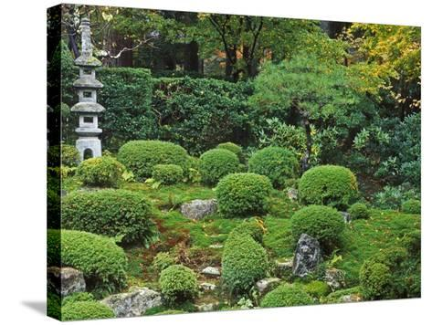 Sanzen-in Temple, Ohara, Kyoto, Japan-Rob Tilley-Stretched Canvas Print