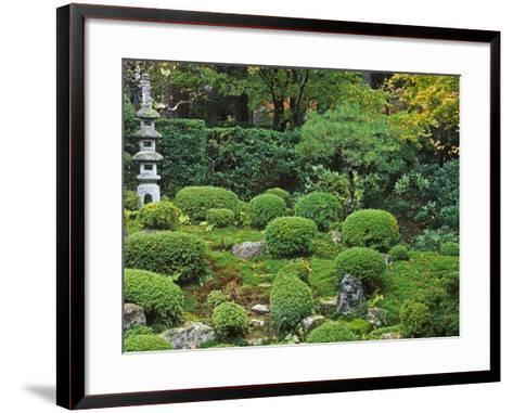 Sanzen-in Temple, Ohara, Kyoto, Japan-Rob Tilley-Framed Art Print