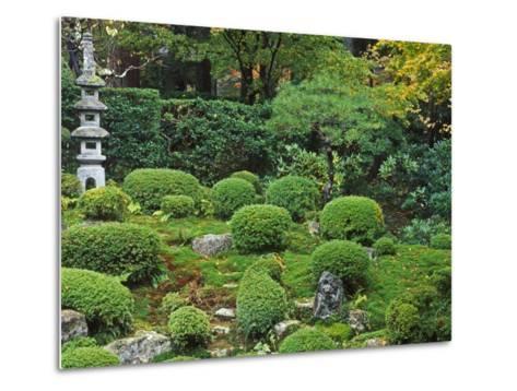 Sanzen-in Temple, Ohara, Kyoto, Japan-Rob Tilley-Metal Print