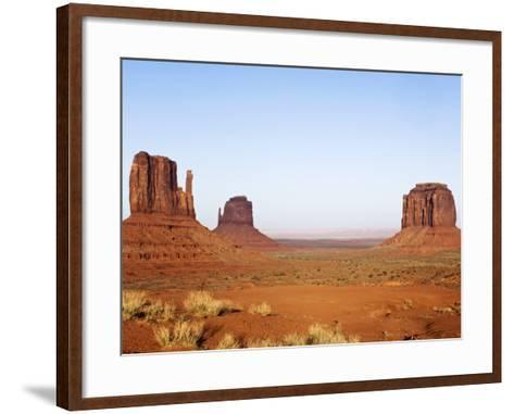 Merrick Butte and The Mittens, Monument Valley Tribal Park, Arizona-Rob Tilley-Framed Art Print