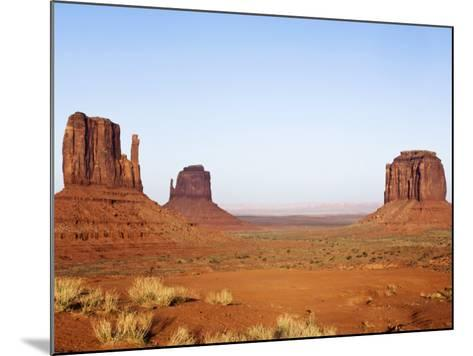 Merrick Butte and The Mittens, Monument Valley Tribal Park, Arizona-Rob Tilley-Mounted Photographic Print