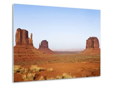 Merrick Butte and The Mittens, Monument Valley Tribal Park, Arizona-Rob Tilley-Metal Print