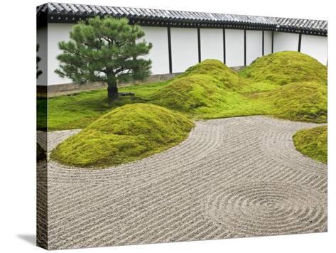 Landscape Garden, Tofukuji Temple, Kyoto, Japan-Rob Tilley-Stretched Canvas Print