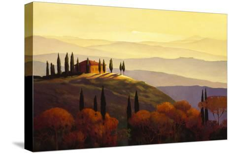 Tuscan Sunrise-Max Hayslette-Stretched Canvas Print