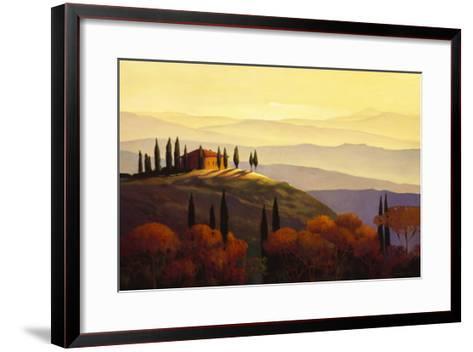 Tuscan Sunrise-Max Hayslette-Framed Art Print