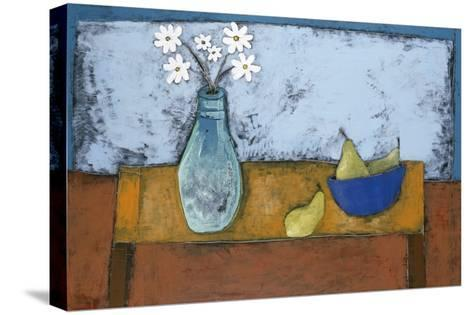 Daisy Still Life-Charlotte Foust-Stretched Canvas Print