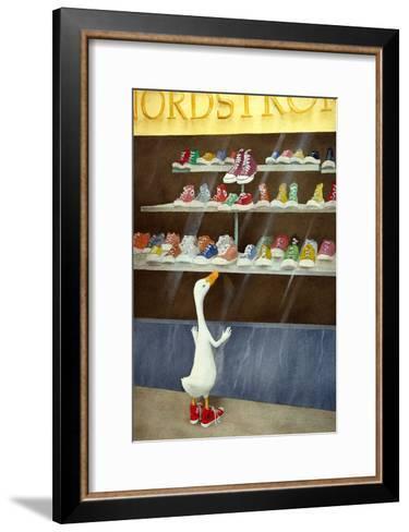 Baby Needs a New...-Will Bullas-Framed Art Print