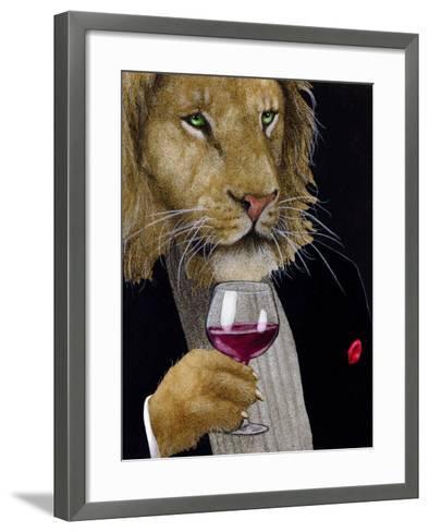 The Wine King-Will Bullas-Framed Art Print