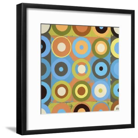 Point in Time 1-Mary Calkins-Framed Art Print