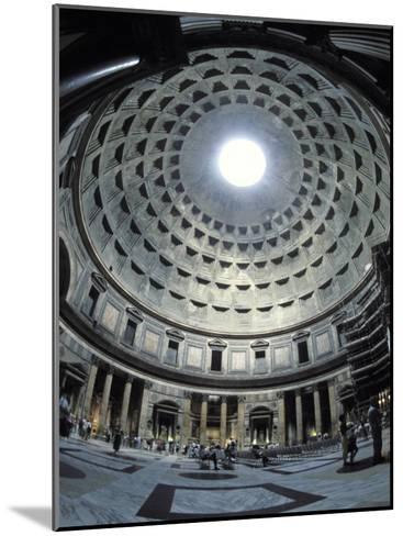 Interior of the Pantheon, the Oldest Domed Building-Richard Nowitz-Mounted Photographic Print