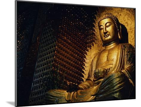 Buddha Found in a Temple in the Buddhist Monastery Foguangshan-xPacifica-Mounted Photographic Print