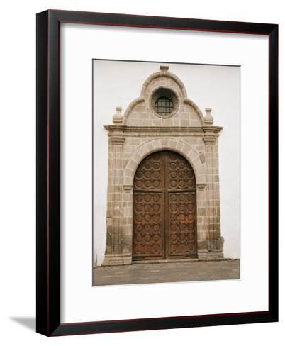 Ornate Spanish Door Is Found On A Church In San Sebastian