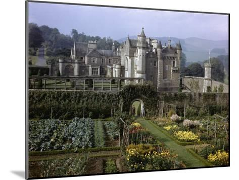 Tourists Walk in Gardens of Abbotsford House-B^ Anthony Stewart-Mounted Photographic Print