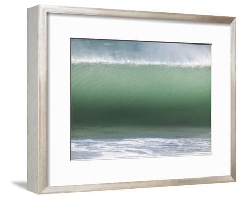 Huge Wave Rolls to Shore-Stacy Gold-Framed Art Print