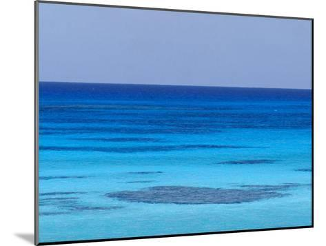 Rich Turquoise Seas and Coral Reefs Surround Remote Tropical Islands-Jason Edwards-Mounted Photographic Print