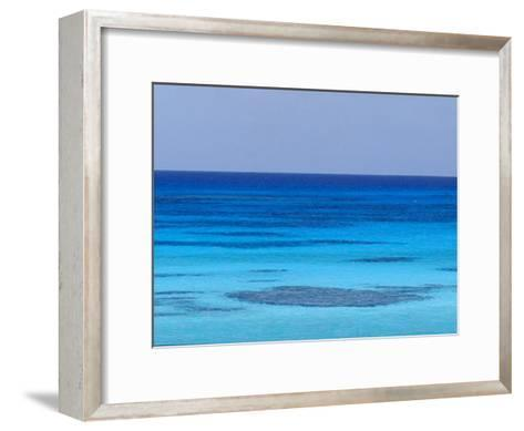 Rich Turquoise Seas and Coral Reefs Surround Remote Tropical Islands-Jason Edwards-Framed Art Print