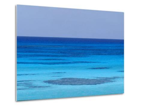Rich Turquoise Seas and Coral Reefs Surround Remote Tropical Islands-Jason Edwards-Metal Print