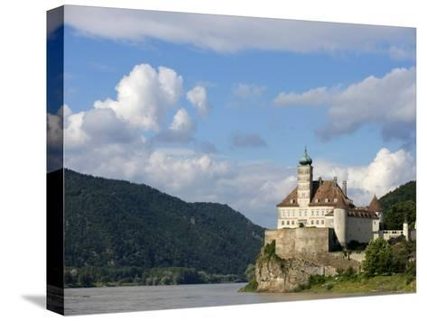 Rocky Promontory on the Danube River-Keenpress-Stretched Canvas Print