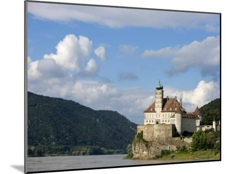 Rocky Promontory on the Danube River-Keenpress-Mounted Photographic Print