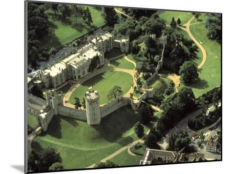 Aerial View of Warwick Castle-Richard Nowitz-Mounted Photographic Print