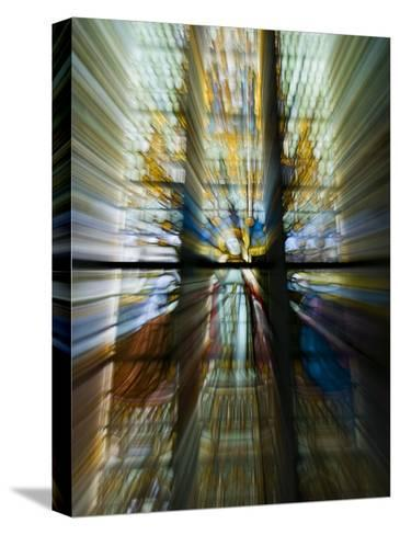 Zoom Special Effect of a Church Stained Glass Window-Mattias Klum-Stretched Canvas Print
