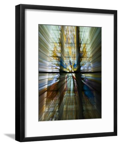 Zoom Special Effect of a Church Stained Glass Window-Mattias Klum-Framed Art Print