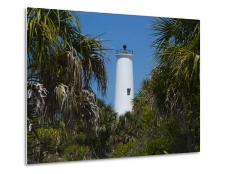 Lighthouse on the Edge of Tampa Bay-Stacy Gold-Metal Print