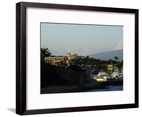 Seaside Resort of Palmas Del Mar and Marina-Raul Touzon-Framed Art Print