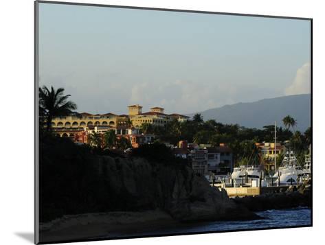 Seaside Resort of Palmas Del Mar and Marina-Raul Touzon-Mounted Photographic Print